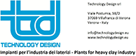 Technology Design . Impianti per l\'industria dei laterizi