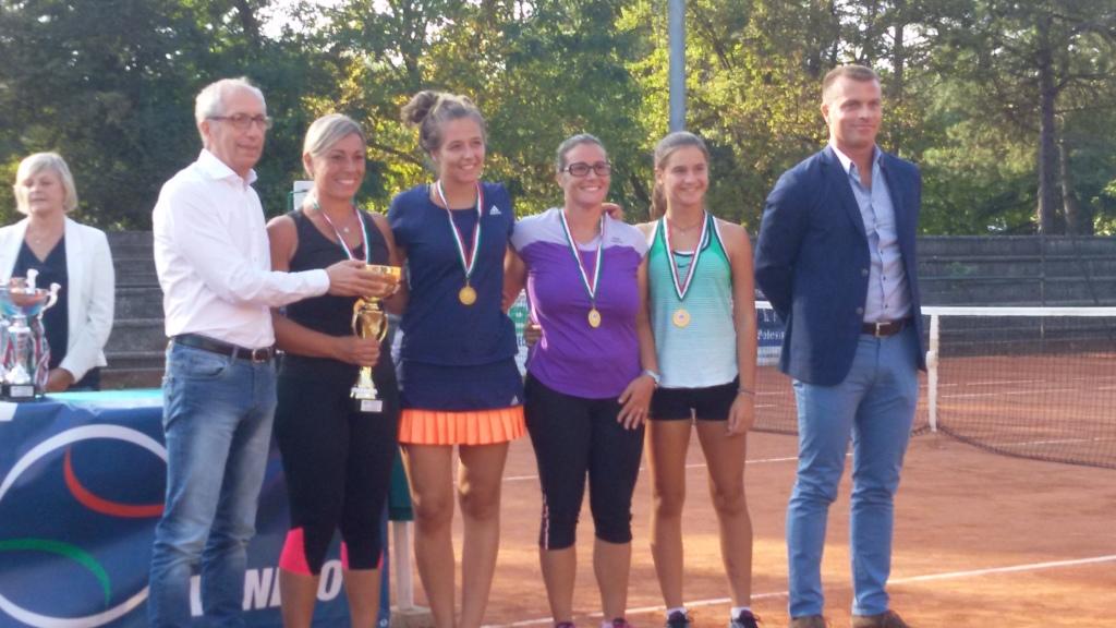 la squadra D3 femminile 2016 - campione regionale